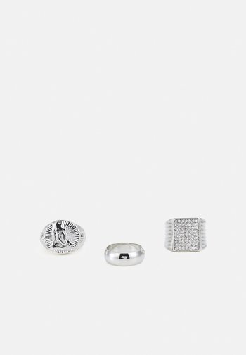 PRAY HANDS 3 PACK - Ring - silver-coloured
