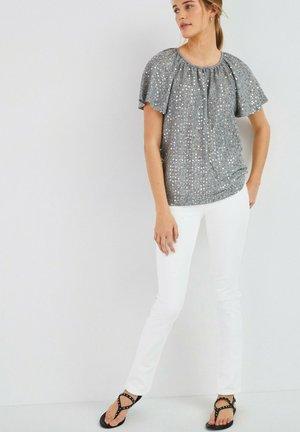 SEQUIN FLUTE  - T-shirt print - grey