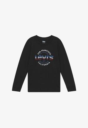 GRAPHIC - T-shirt à manches longues - black