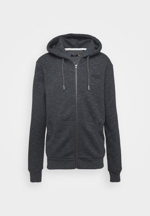 ORANGE LABEL - Zip-up hoodie - eclipse navy feeder