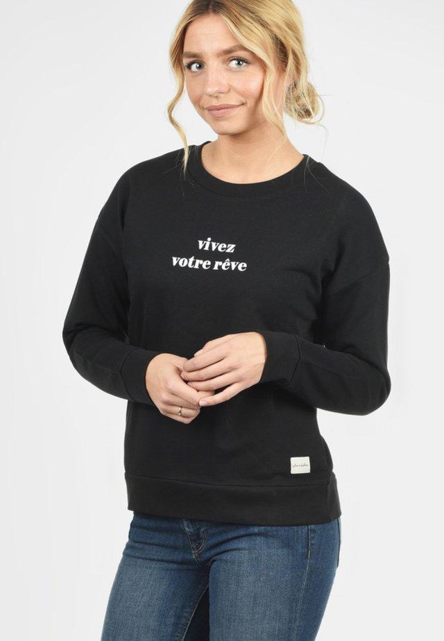 AURELIE - Sweatshirt - black
