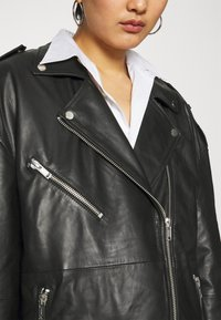 Deadwood - AGATHA BIKER - Short coat - black - 7