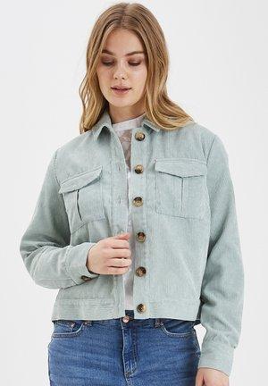 Summer jacket - bleached aqua