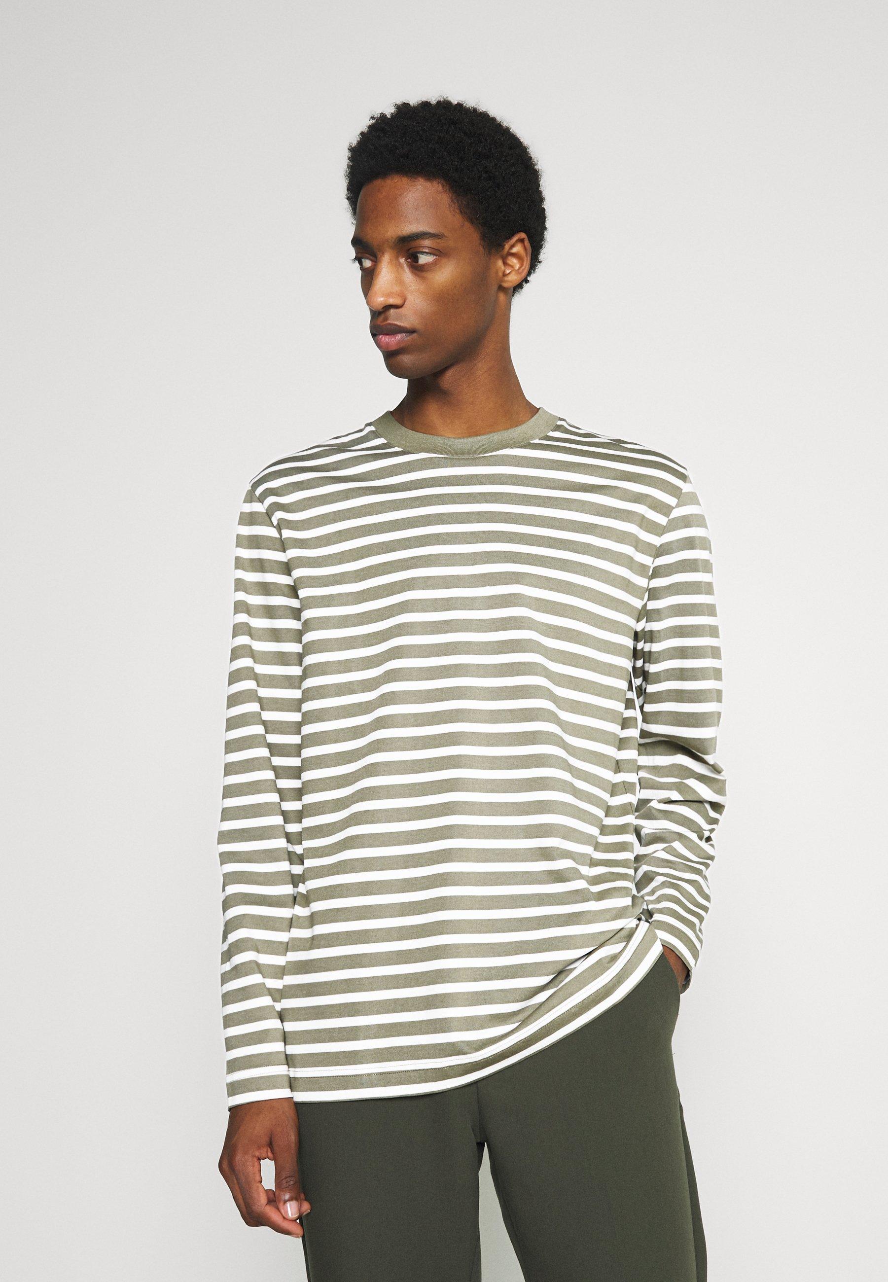 Men SLHRELAXCOLMAN O NECK TEE  - Long sleeved top
