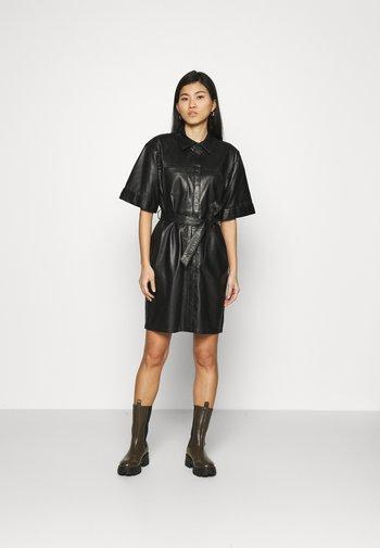 BREAK - Shirt dress - black