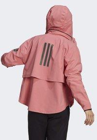adidas Performance - Waterproof jacket - pink - 2
