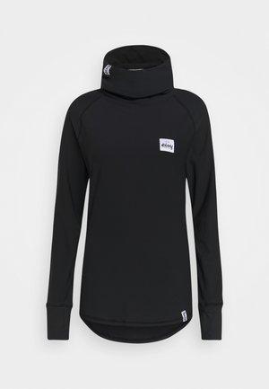 ICECOLD GAITER - Langarmshirt - black