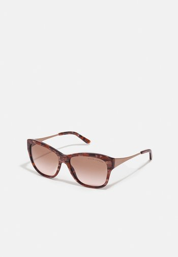 Sunglasses - shiny brown marble