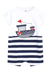 Next - NAVY 3 PACK NAUTICAL BOAT ROMPERS (0MTHS-3YRS) - Jumpsuit - blue - 1