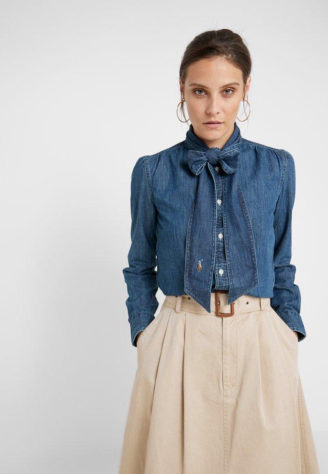 Skjorta - medium indigo