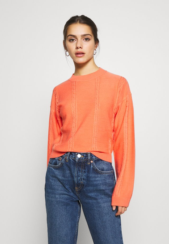 JUMPER - Neule - red