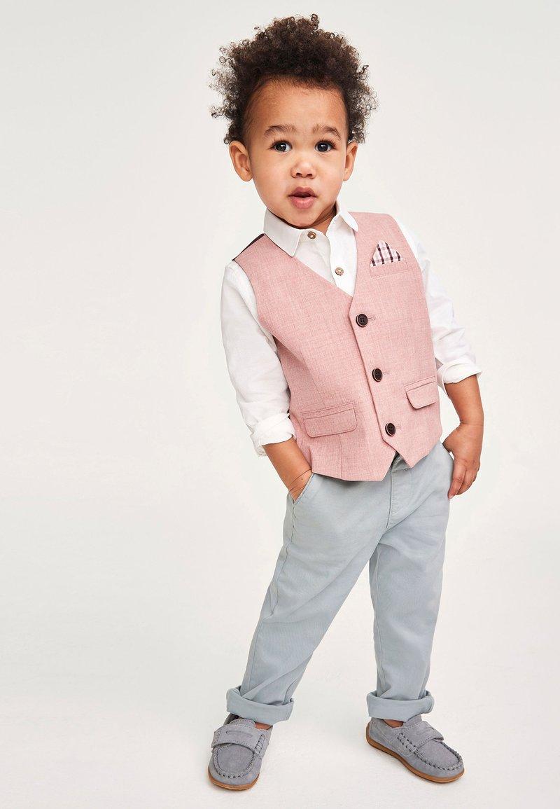Next - SET - Suit waistcoat - pink