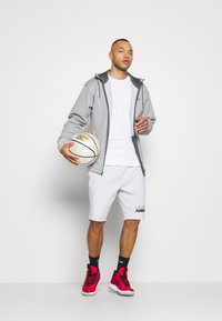 Under Armour - Zip-up hoodie - pitch gray light heather - 1