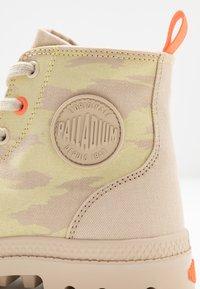 Palladium - PAMPA ZIP NEVADA - Boots à talons - yellow - 2