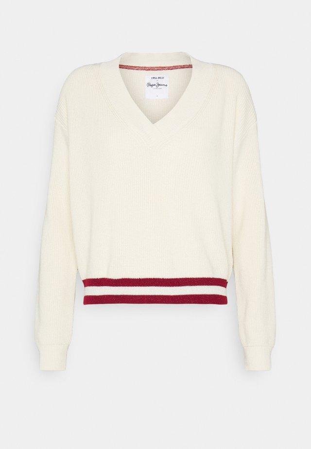 MARIETTA - Pullover - ecru
