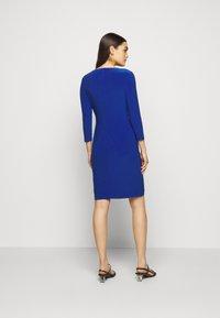 Lauren Ralph Lauren - MID WEIGHT DRESS TRIM - Shift dress - summer sapphire - 2