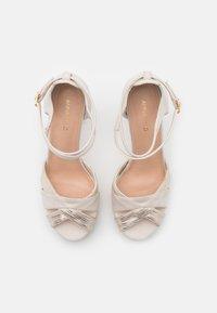 Anna Field - Højhælede sandaletter / Højhælede sandaler - offwhite - 5