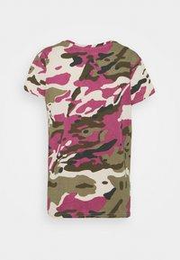 G-Star - VNECK - Print T-shirt - whitebait pop multi - 6