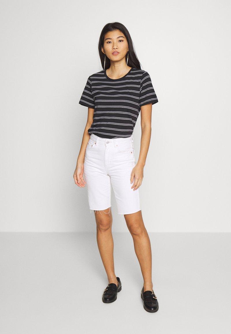 Anna Field - 2 PACK - Print T-shirt - black/multicoloured