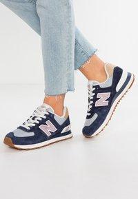 New Balance - WL574 - Sneaker low - navy - 0
