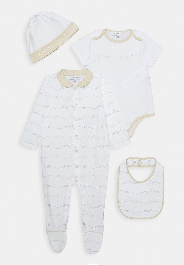 BABY SET - Beanie - beige