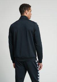 Hummel - Zip-up hoodie - black - 2