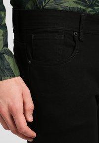 Selected Homme - SHSLIM LEON  - Džíny Slim Fit - black - 3