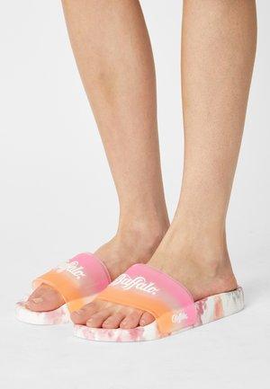 RESI - Pool slides - pink/orange