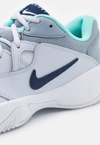 Nike Performance - COURT LITE 2 CLAY - Clay court tennis shoes - football grey/midnight navy - 5