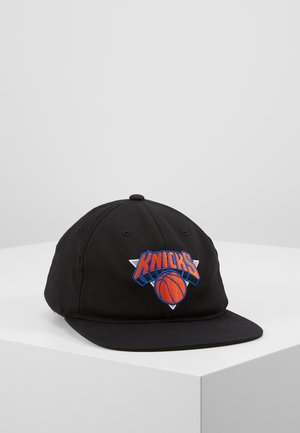 NBA TEAM LOGO DEADSTOCK THROWBACK SNAPBACK NEW YORK KNICKS - Czapka z daszkiem - black