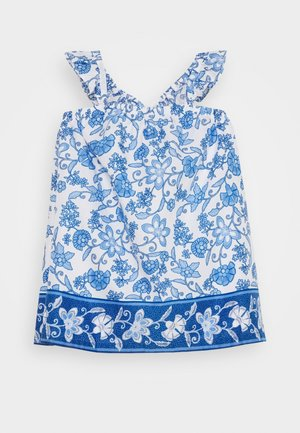 TODDLER GIRL - Korte jurk - baltic blue