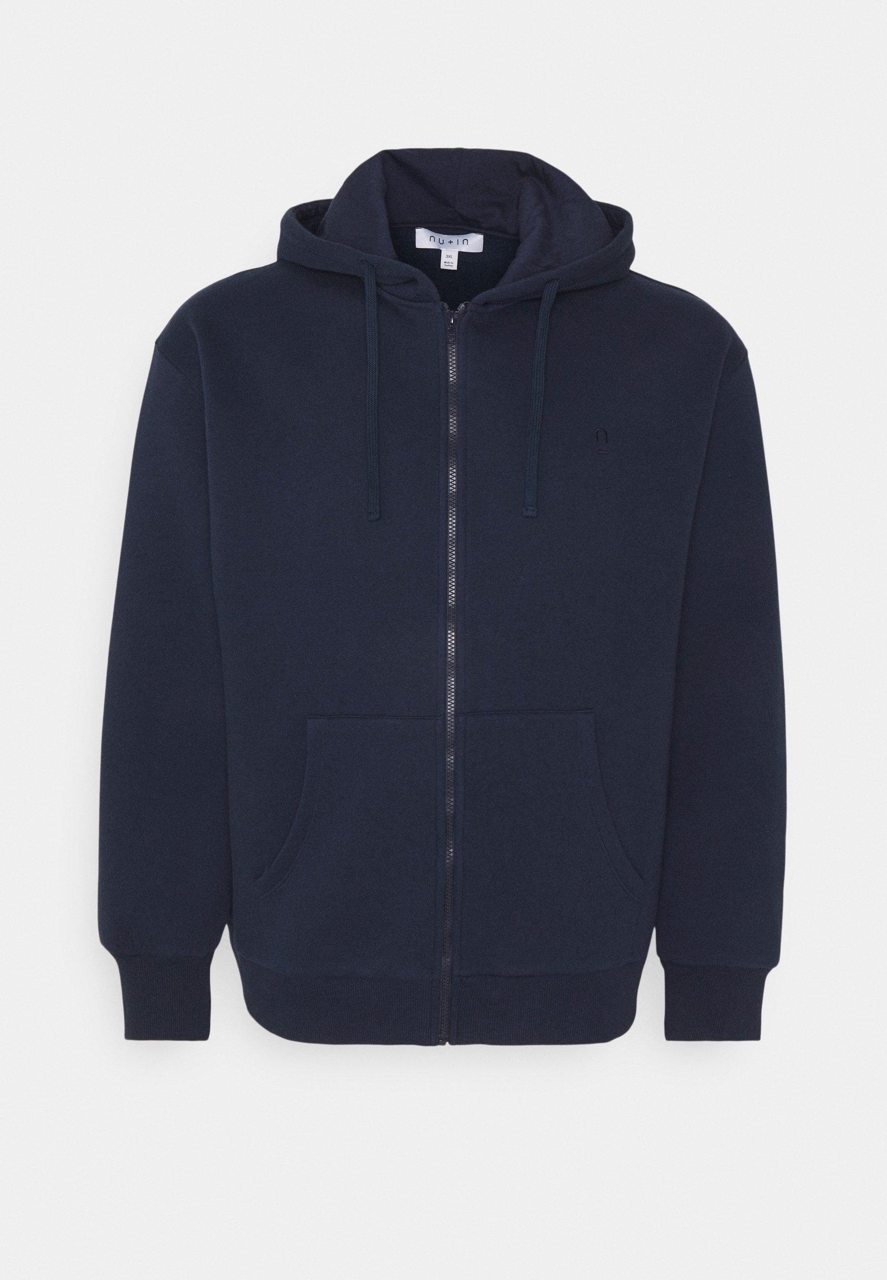 Men PLUS ZIP UP HOODIE - Zip-up sweatshirt