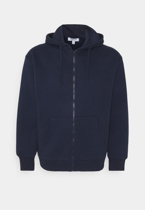 PLUS ZIP UP HOODIE - Felpa aperta - navy
