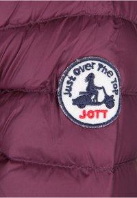 JOTT - CLOE - Gewatteerde jas - aubergine - 3