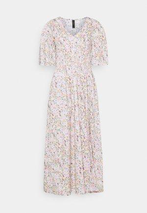 YASVEJA 2/4 LONG DRESS - Day dress - eggnog