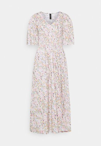 YASVEJA 2/4 LONG DRESS - Vestido informal - eggnog