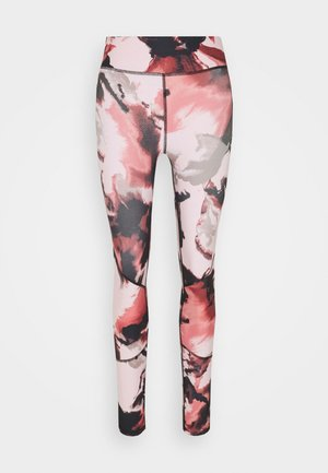 ONPJABINA LIFE TRAIN - Tights - peachskin/black