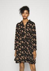 Molly Bracken - LADIES DRESS - Shirt dress - black - 0