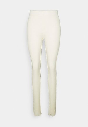 PANTALONE - Leggings - Trousers - off white