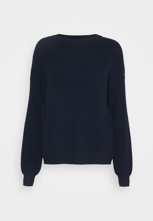 ONLSANDY  SOLID  - Strickpullover - night sky
