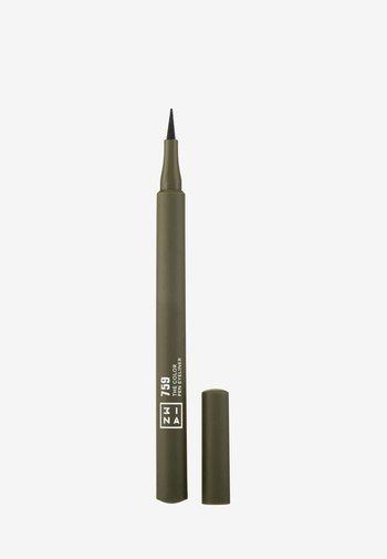THE COLOR PEN EYELINER  - Eyeliner - 759 dark green
