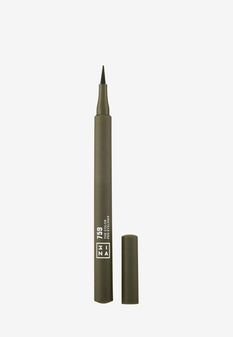3ina - THE COLOR PEN EYELINER  - Eyeliner - 759 dark green