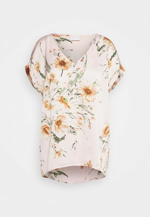 VIKIRA DREAMERS V NECK  - Bluzka - light pink