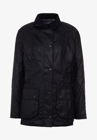 Barbour - BEADNELL WAX JACKET - Waterproof jacket - black - 3