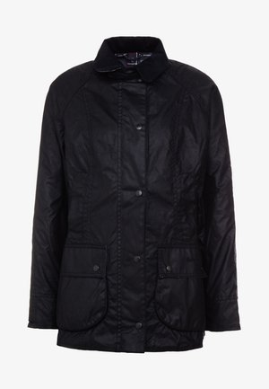 BEADNELL WAX JACKET - Waterproof jacket - black