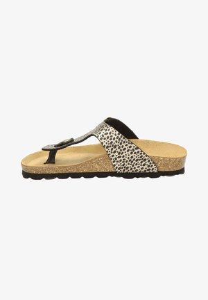 T-bar sandals - goud