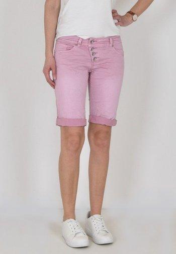 MALIBU - Denim shorts - lavendel