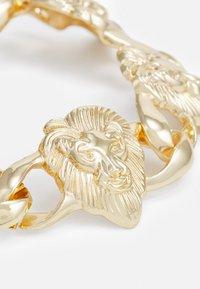 Urban Classics - LION BRACELET UNISEX - Armbånd - gold-coloured - 2
