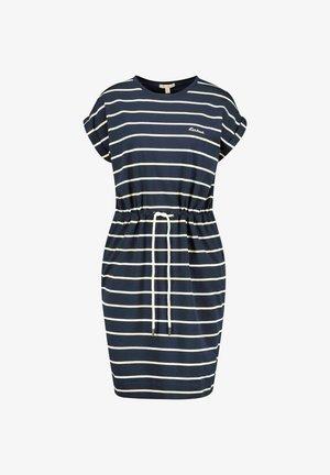 MARLOES STRIPE - Jersey dress - blue