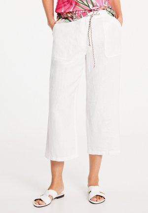 Trousers - weiß/weiß